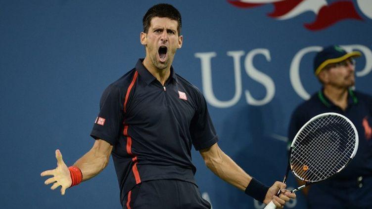 Novak Djokovic en combattant