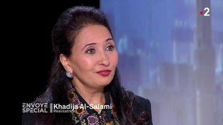"""Khadija Al-Salami (""""Envoyé spécial"""") (FRANCE 2 / FRANCETV INFO)"""