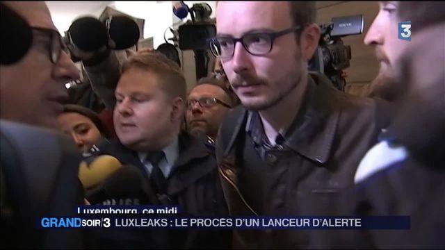 Luxleaks : le procès du lanceur d'alerte Antoine Deltour s'est ouvert