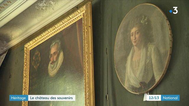 Héritage : dans le château d'Anisy, 150 ans de souvenirs sont à vendre