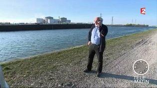 """André Hatz, président de l'association """"Stop Fessenheim"""". (FRANCE 2)"""