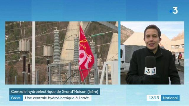 Isère : une usine hydroélectrique partiellement à l'arrêt après un mouvement de grève