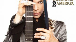 """La couverture de l'album posthume de Prince, """"Welcome 2 America"""", qui sort le 30 juillet 2021. (MIKE RUIZ)"""