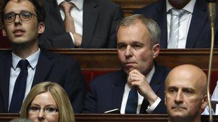 François de Rugy, député La République en marche, à la session inaugurale de la XVe législature, le 27 juin 2017. (PATRICK KOVARIK / AFP)