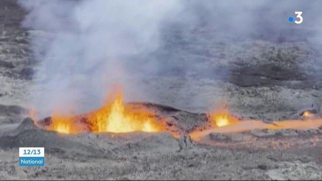 La Réunion : le Piton de la Fournaise rentre en éruption