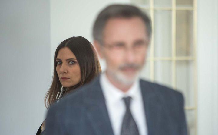 Géraldine Pailhas incarne l'épouse de Thierry Lhermitte  (SND GROUPE M6)