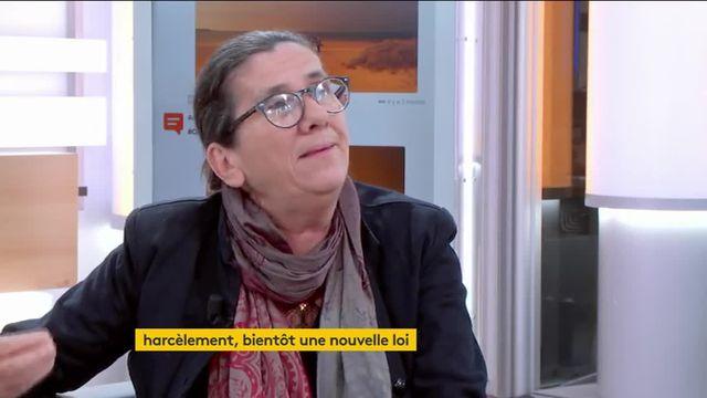 Marie Cervetti, membre du Haut Conseil pour l'égalité entre les femmes et les hommes et directrice de l'association Fit, une femme, un toît