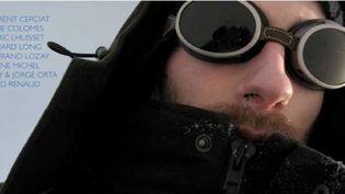 """Affiche de l'exposition Les Nouveaux Explorateurs tirée du film """"La Marche à ne pas suivre""""  (Bertrand Lozay)"""