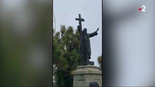 Après les manifestations antiracistes qui ont suivi la mort de George Floyd, de nouvelles statues ont été déboulonnées à Washington et à San Francisco. En France, comment certaines villes tentent-elles de concilier leur histoire avec les critiques ? (France 2)
