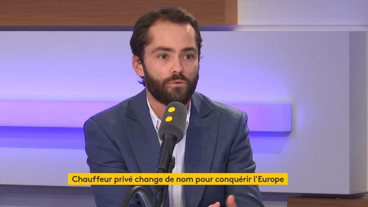 Yan Hascoet, invité de l'Interview éco, le 7 février 2019. (FRANCEINFO / RADIOFRANCE)