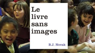 """""""Le livre sans images"""", de B.J. Novak (Ecole des loisirs)  (Capture d'écran vidéo de présentation du livre / Ecole des loisirs)"""