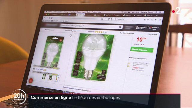 Achats sur internet : le fléau des emballages