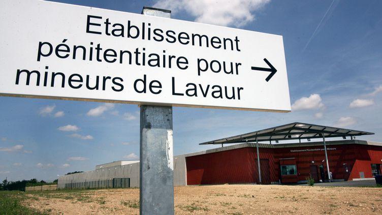 L'établissement pénitentiaire pour mineurs de Lavaur, dans le Tarn (illustration). (THIERRY BORDAS / MAXPPP)