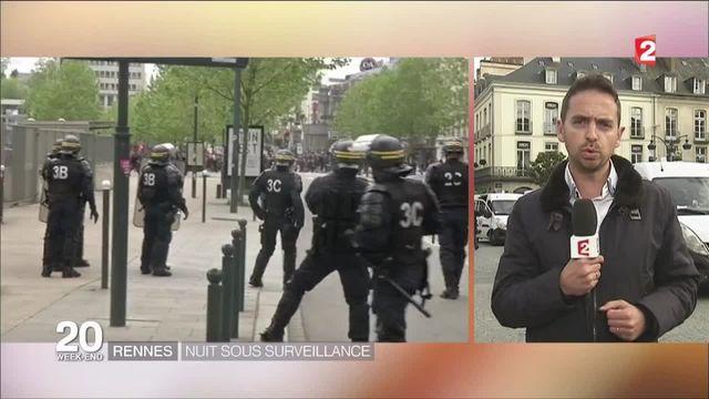 Rennes : le centre-ville sous tension