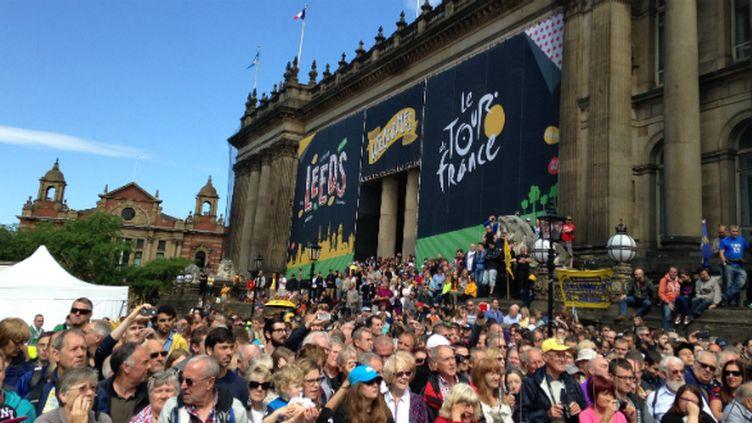 Le Civic Hall de Leeds aux couleurs du Tour