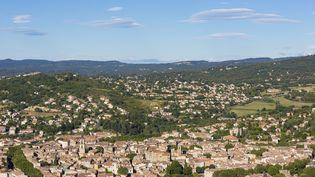 Vue aérienne de Manosque, dans les Alpes-de-Haute-Provence, le 2 juillet 2017. (CHAPUT FRANCK / HEMIS.FR / HEMIS.FR / AFP)