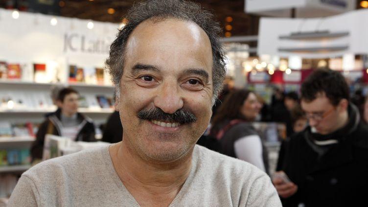 L'auteurAkli Tadjer à Paris, en 2012. (A. AUBOIROUX / MAXPPP)