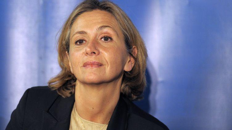 L'ancienne ministre du Budget, Valérie Pécresse, le 8 octobre 2012 lors d'un meeting de François Fillon pour la présidence de l'UMP à Paris. (BERTRAND GUAY / AFP)