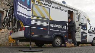 Un camping-car de la gendarmerie. (FRANCE 3)