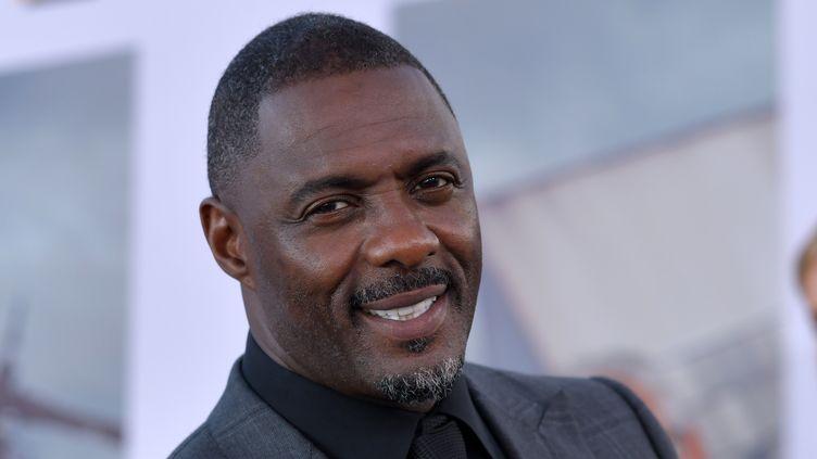 L'acteur Idris Elba a annoncé avoir été testé positif au coronavirus. (CHRIS DELMAS / AFP)
