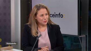 Nadia Hai, ministre déléguée chargée de la ville, lundi 23 novembre 2020 sur franceinfo. (FRANCEINFO / RADIO FRANCE)