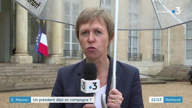 Allocution d'Emmanuel Macron : une prise de parole aux accents de campagne électorale