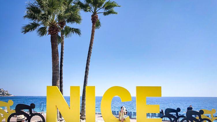 Nice, et sa Promenade des Anglais, théâtre du Grand Départ du Tour de France 2020 (ARIE BOTBOL / HANS LUCAS)