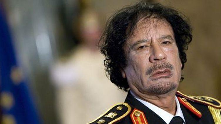 L'ex-leader libyen Mouammar Kadhafi à Rome le 10 juin 2009 (Reuters - Max Rossi)