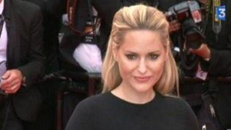 Aimée Mullins, mannequin et actrice au festival de Cannes  (Culturebox)