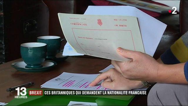 Brexit : de plus en plus de Britanniques demandent la nationalité française