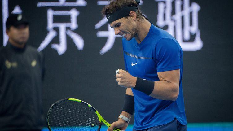 Neuvième finale de la saison pour Rafael Nadal (NICOLAS ASFOURI / AFP)