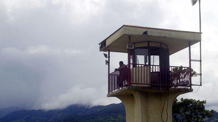 Un mirador de la prison de La Reforma, le 27 octobre 2004 au Costa Rica. (KENT GILBERT/AP/SIPA / AP)