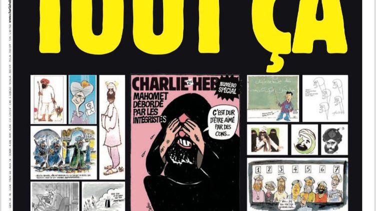 """La couverture du numéro du mercredi 2 septembre 2020 de """"Charlie Hebdo"""". (CHARLIE HEBDO)"""