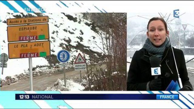 Pyrénées : une neige très abondante