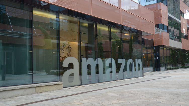 Le siège d'Amazon au Luxembourg, le 10 août 2017. (MAXPPP)