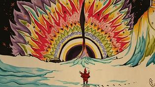 """""""Christmas 1926"""" est la quatrième oeuvre de Tolkien tissée dans le cadre d'un projet hors normes qui comptera à termes 13 tapisseries et un tapis.  (Culturebox - capture d'écran)"""