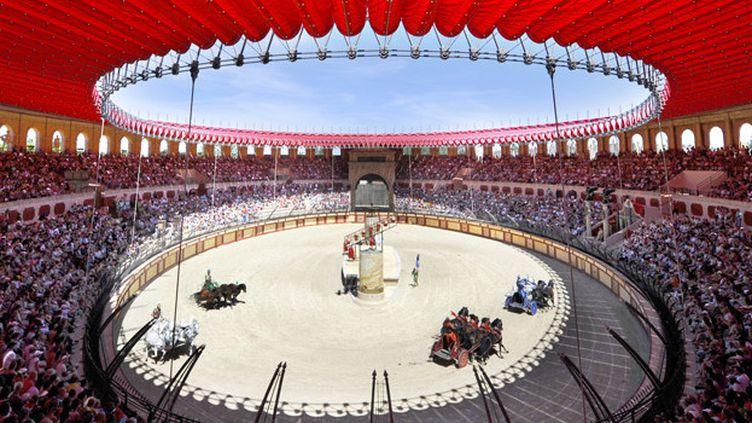 Les arènes au Puy du Fou : les jeux du cirque grandeur nature.  (Le Puy du Fou)