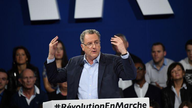 Richard Ferrand, soutien d'Emmanuel Macron, le 10 décembre 2016 à Paris. (ERIC FEFERBERG / AFP)