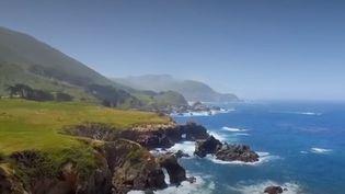 France 2 vous fait découvrir durant toute cette semaine l'une des routes les plus mythiques de la planète : la Pacific Coast highway, aux États-Unis. (FRANCE 2)