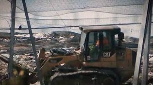 Soupçons de trafic de déchets à Millery. (CAPTURE D'ÉCRAN FRANCE 3)