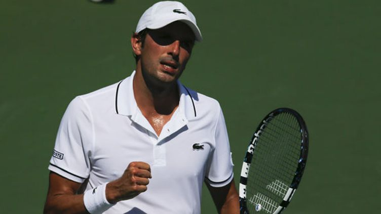 Le tennisman français Julien Benneteau