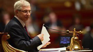 Le président de l'Assemblée nationale, Claude Bartolone, le 15 octobre 2013. (ERIC FEFERBERG / AFP)
