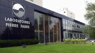 L'usine Pierre Fabre à Gien (Loiret), le 26 juillet 2001. (ALAIN JOCARD / AFP)