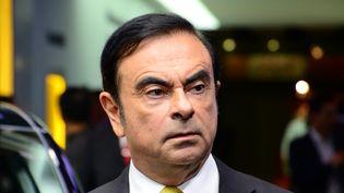 Le patron de Renault et Nissan, Carlos Ghosn, le 1er mars 2016 au salon de l'automobile de Genève (Suisse). (CITIZENSIDE/RÉMY GENOUD / AFP)