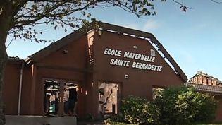 Une école de maternelle a été ravagée par les flammes à Jeumont (Nord), à seulement quelques jours de la rentrée des classes. (FRANCE 3)