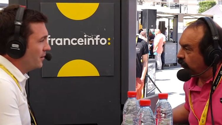 Le secrétaire général de laCGT Philippe Martinezaffirme que l'avenir du ferroviaire sera de nouveau d'actualité à la rentrée. (FRANCEINFO)