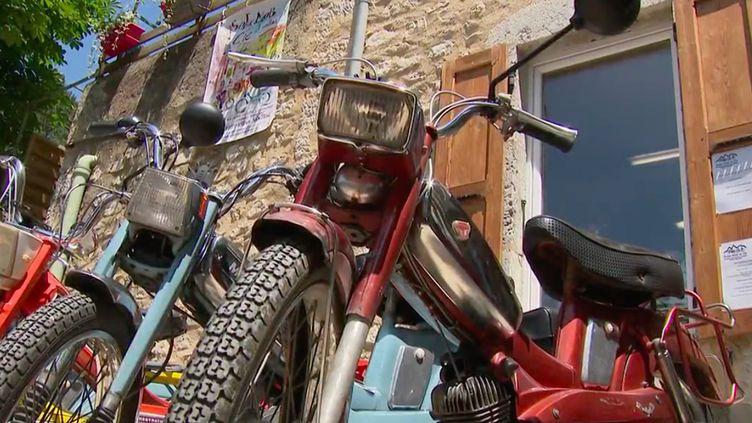 La mobylette fait son grand retour. À Saillans, dans la Drôme, un loueur de vieux cyclomoteurs des années 1970 vient de lancer son activité. (FRANCE 3)