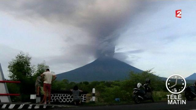 Indonésie : Bali sous la menace d'une éruption volcanique
