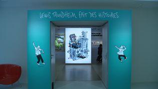 Exposition Lewis Trondheim fait des histoires à la Cité de la BD à Angoulême. (P. Simon /France Télévisions)