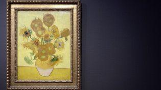 """""""Les Tournesols"""" sont de retour au musée Van Gogh d'Amsterdam  (Lex Van Lieshout / EPA / MAXPPP)"""